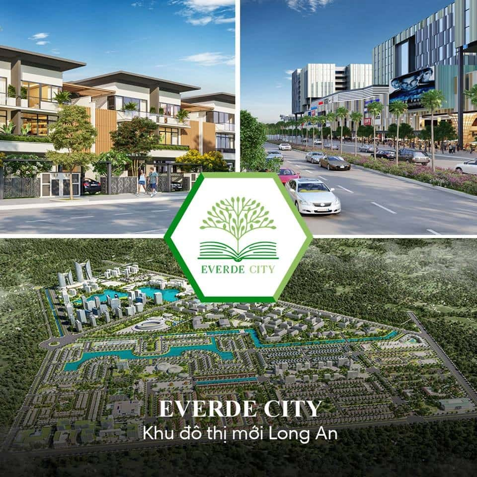 Đất nền Everde City Long An